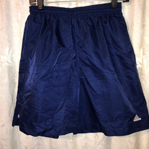 adiddas blue m pockets athletic short